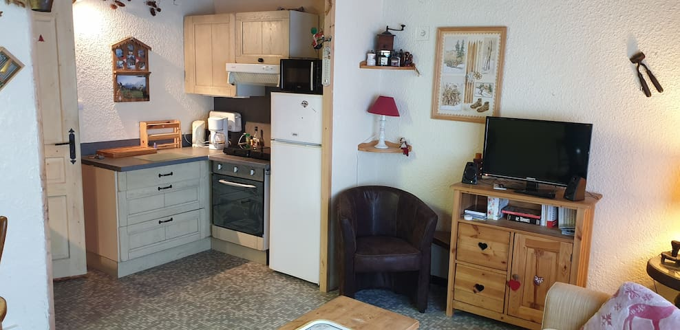 Atypique appartement pour 2 à 4 personnes