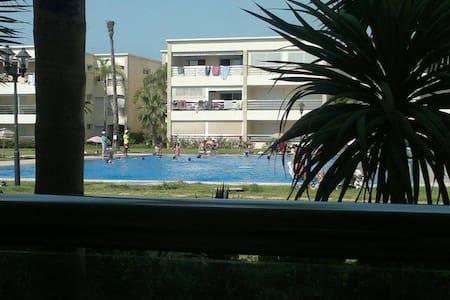 Ola Blanca Appartement ensoleillé pieds dans l'eau - Sidi Rahal