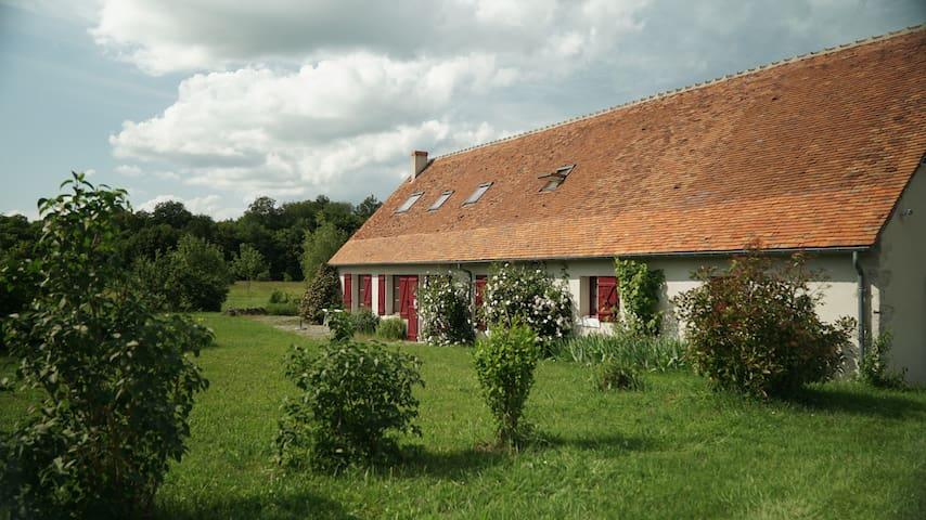 Belle maison entre Loire et Beauval piscine tennis