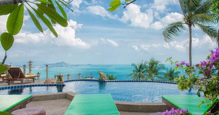 Deluxe Two-Bedroom Villa by Laem Sila Resort