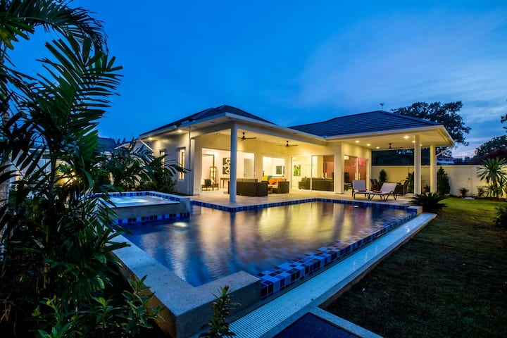 Moderne Poolvilla, Hua Hin