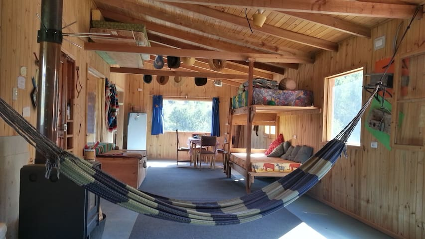 Cabaña Refugio en Nahuelbuta.