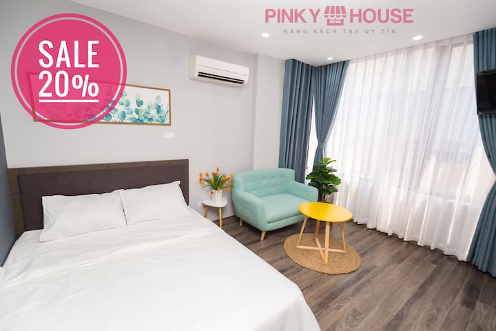 💝Pinky House💝-3.1 Cozy apartment* FREE GYM ROOM