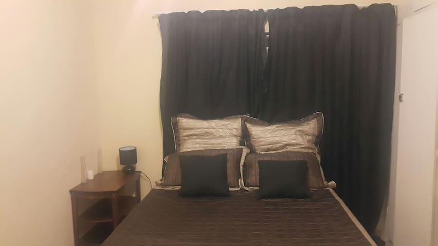 Serene private room in Lusaka