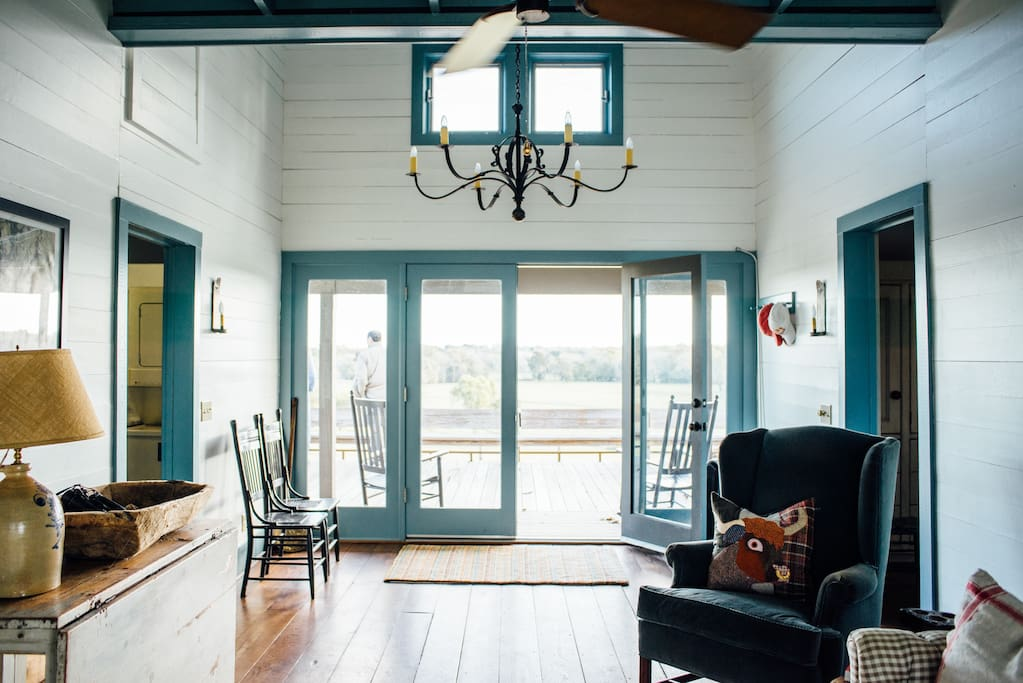 Starhill farms ranch house agriturismi in affitto a new for Costruttori di case in stile ranch in texas