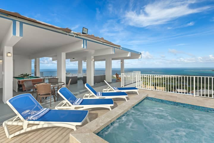 Aqua Green | Breathtaking views with a private salt water pool