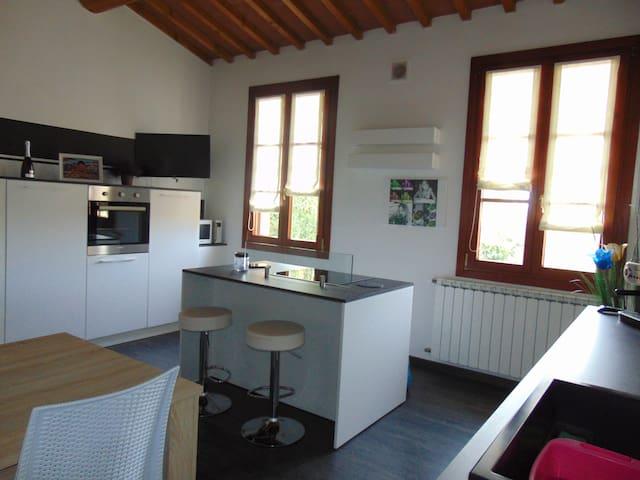 Intera casa nel verde - Spicchio-Sovigliana - Daire