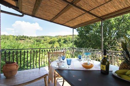 Lovely flat La Pergola zwischen Siena und Florenz - Alberi