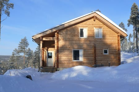 Wooden house in forest - Inari - Cabin