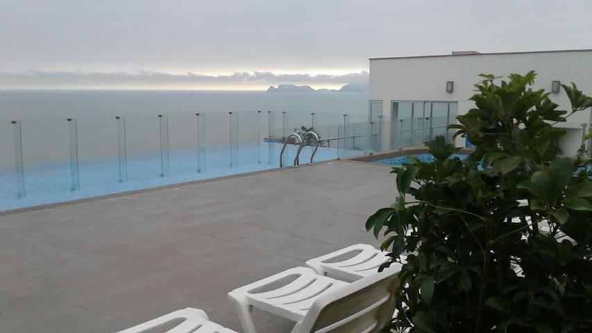 departamento con vista al mar - San Miguel
