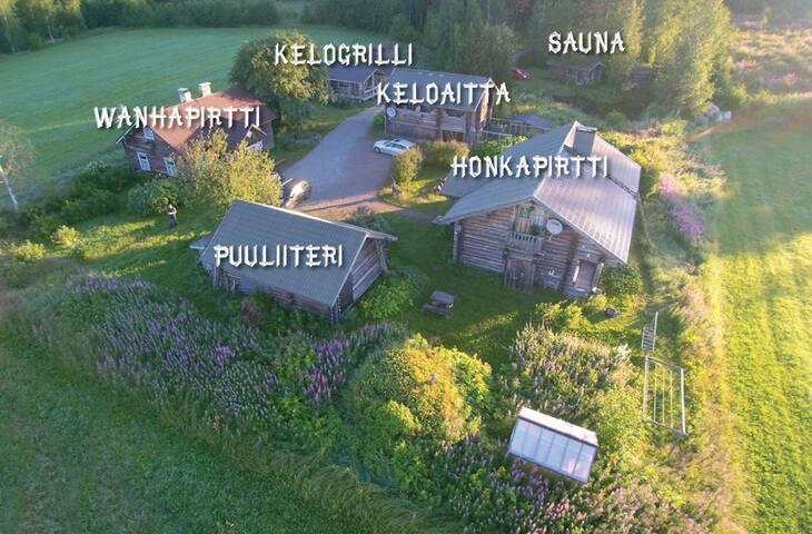 Log cabin ambiance - Pykälä kelokylä