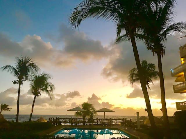 Curaçao Beau Rivage Condo on Private Beach