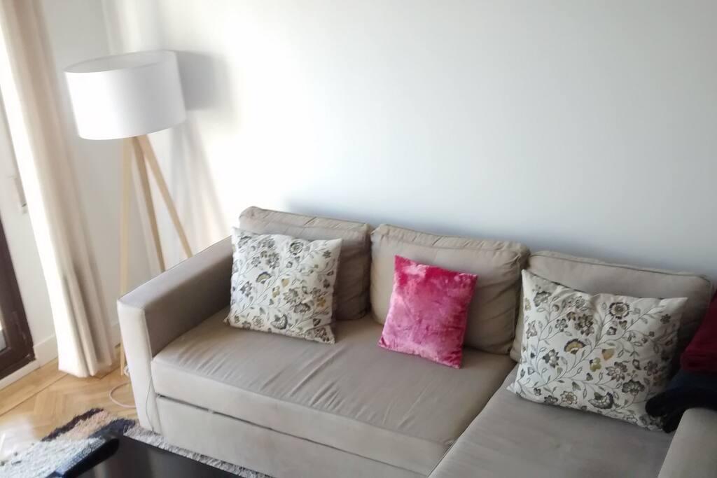 Sofá cama Ikea de 150cm, perfecto para 2