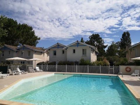 Charmante Maison T3 dans Résidence avec piscine
