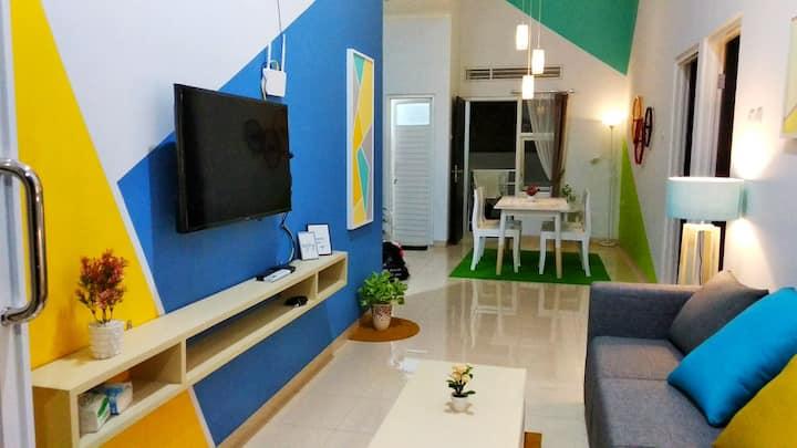 VILLA KHANSA 2bedroom depan JATIM PARK 2 pas