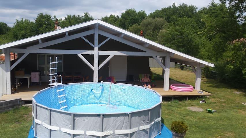 Maison calme 100 m2 - Mios - Talo