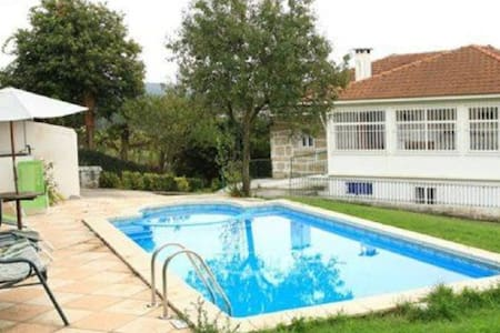 House in a rural setting with swimming pool - Gondifelos - Rumah