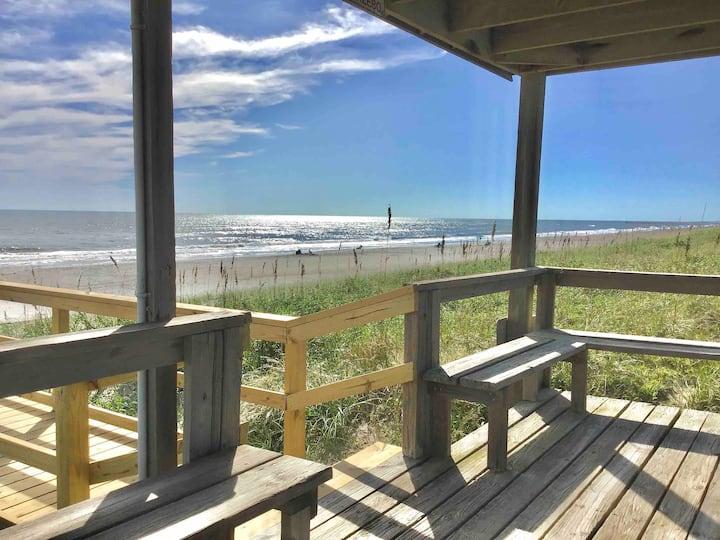 🏖 Beachfront Studio_Private Beach Access_End Unit