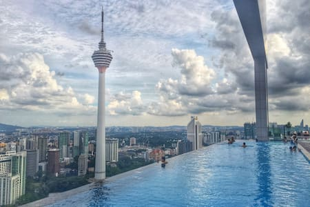 1BR Suites at KLCC/Rooftop Pool - 吉隆坡