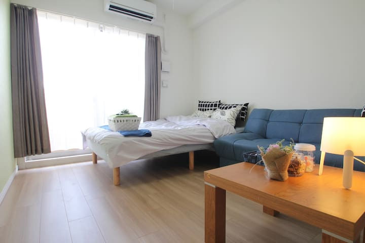 Haven in Osaka/Near dotonbori/Namba-free wifi-