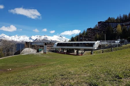 Studio Arcs 1600 nice vu of the Mont Blanc