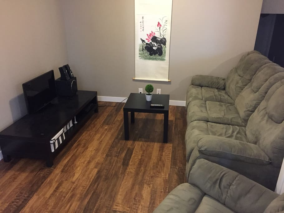 TV Area with Recliner