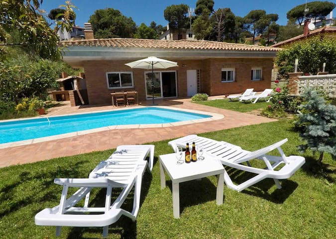 Fantastic House with Private Pool in Lloret de Mar