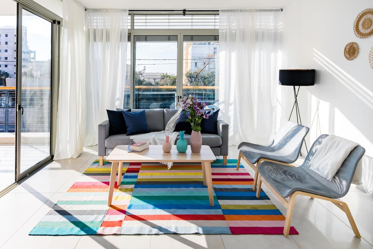 Brightness with Sea View Two Bedroom Apartment by Homy