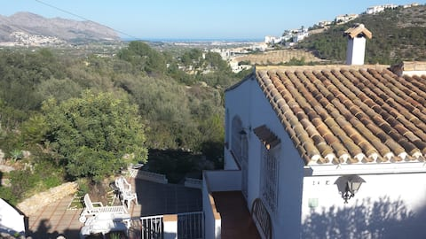 Authentic Spanish casa with sea view and  garden