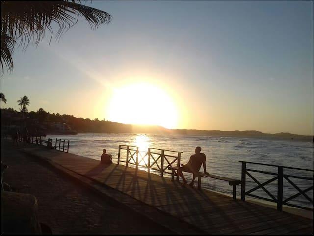 Pipa - Kitnet/Monoambiente em imóvel na Beira-mar