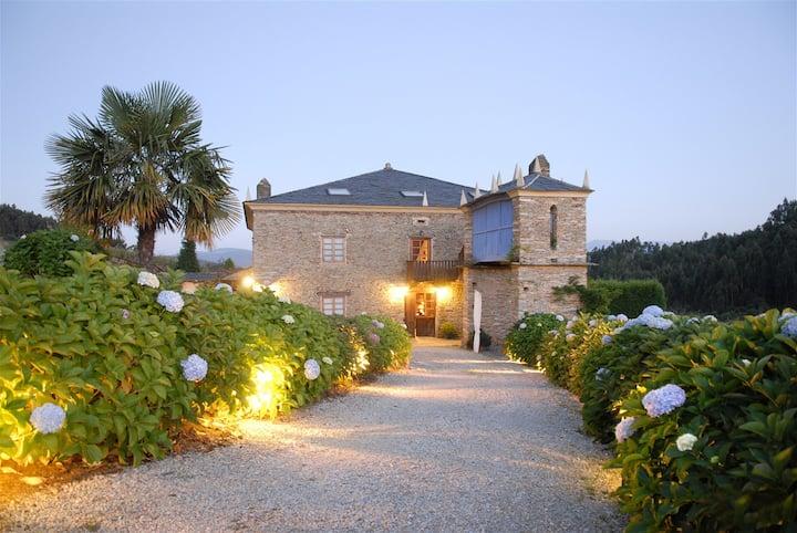 Hotel Casa Doñano en Ribadeo