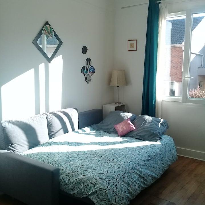 chambre confortable et cosy