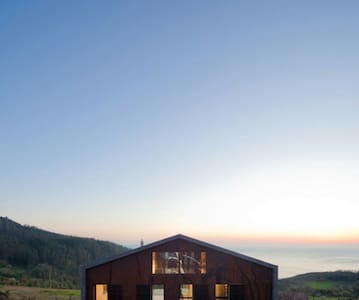 Casa de diseño con impresionantes vistas - Cedeira - Dom