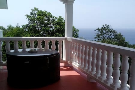 Far view  Room with balcony - Oracabessa