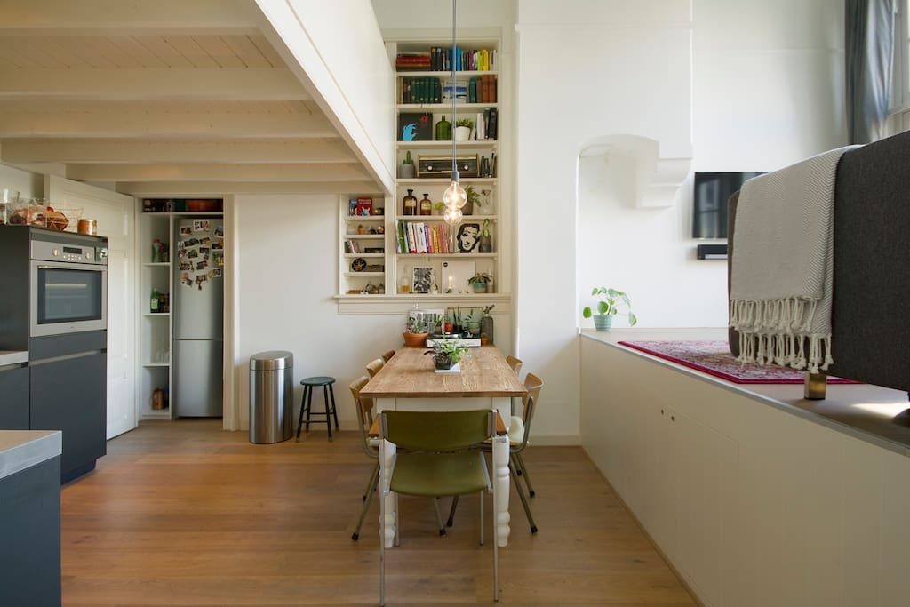 The open kitchen