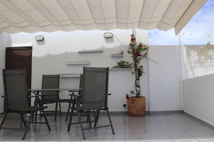 Andalusian Patio and Terrace old town house