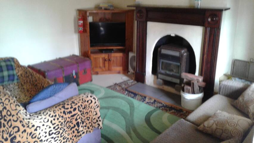 Lounge TV & DVD with FirePlace