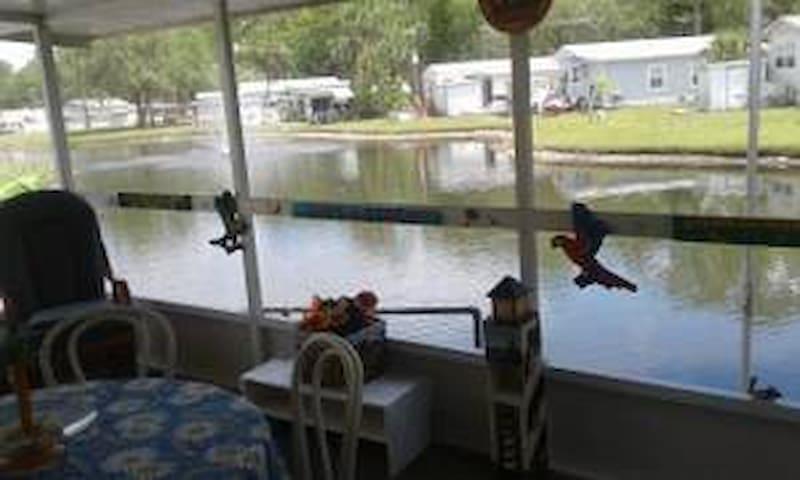Waterfront home in Port Richey