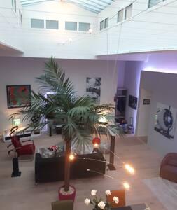 magnifique loft 170m2 triangle d'or - Brest - Loft