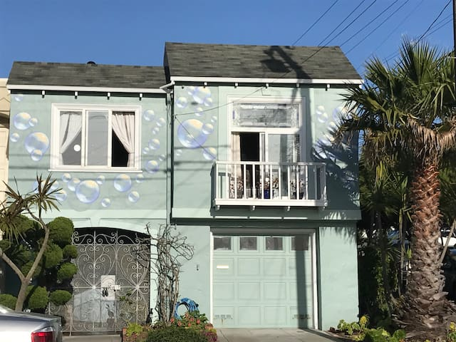 Private Bed&Bath in House by Beach - San Francisco - House