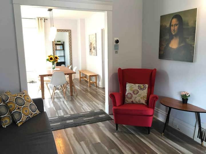 Cozy Home Downtown Core 5minWalk Falls/CliftonHill