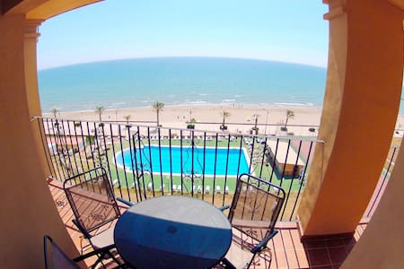 Apt Port Saplaya 1ª Beach Front - Apartment