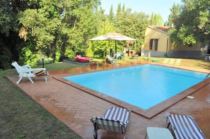 Casa & piscina, vigneti e 7 km mare - Massa Marittima - Haus