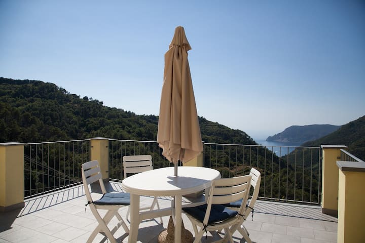 VERNAZZA: Sea&Mountain View (CITRA 011030-LT-0078)
