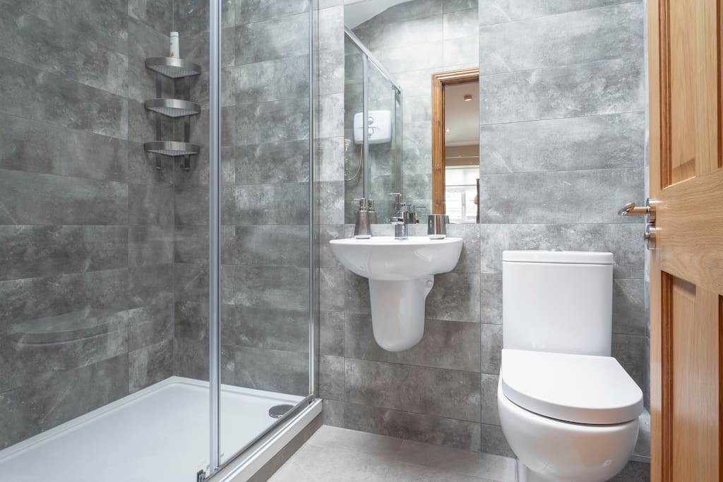 Private Ensuite bathroom with huge shower