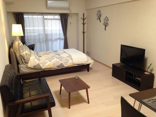 Stylish Studio in Central Tenjin **Best Location** - Fukuoka-shi - Apartment