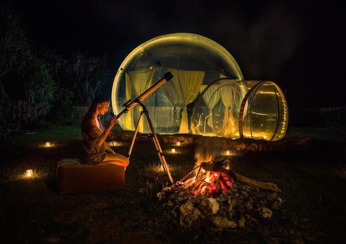 ULUWATU Romantic bubble experience (2)