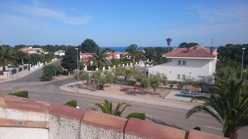 App 5p 3 ch Duplex Cap Roig (L'Ampolla) 200m plage - L'Ampolla (Cap Roig) - Byt