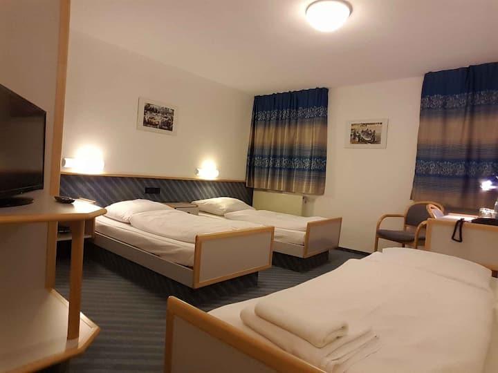 Löwen Hotel Arian, (Allmersbach), Dreibettzimmer