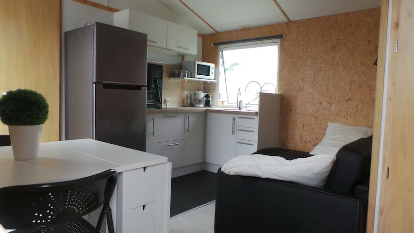 Mobil home vue mer camping 4etoiles